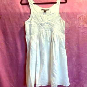 I am selling a French Connection white dress.